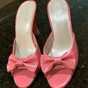 Guess Open Toe Heels  size 7 1/2